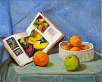 Still Life with Oranges, Book